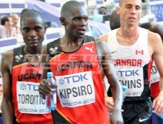 Kipsiro to lead Ugandan team to Copenhagen 2014