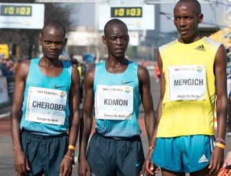 Leonard Komon wins Berlin Half Marathon in 59:14