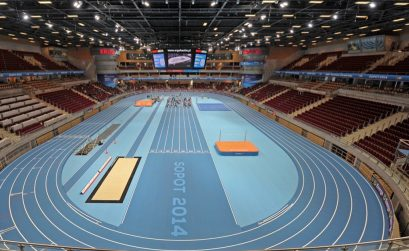 15th World Indoor Championships in Athletics SOPOT 2014 that are being held in ERGO ARENA from 7-9 March.