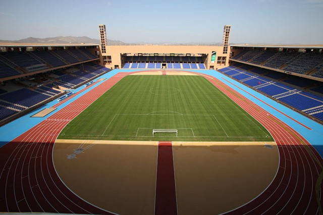 the Great Stadium of Marrakech