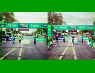 Bekele breaks course record on marathon debut in Paris
