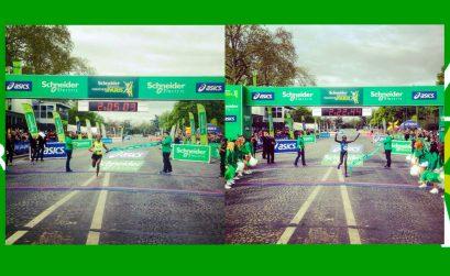 2014 Schneider Electric Marathon de Paris winners