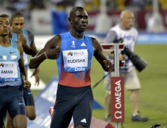 Rudisha returns to Doha DL, Dibaba to lead 3000m field