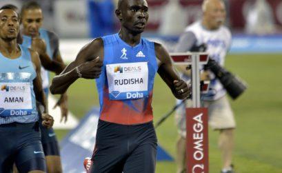 David Rudisha will return to IAAF Diamond League action at the Doha 2014 meeting.