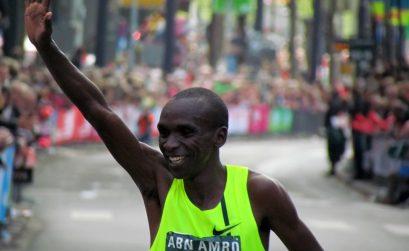 Kenyan Eliud Kipchoge won the 34th ABN AMRO Rotterdam Marathon on Sunday.