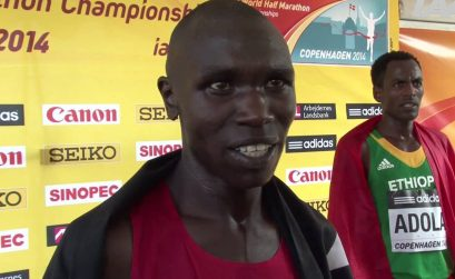 Video Interview with Geoffrey Kipsang Kamworor (Kenya