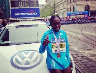 Joyce Chepkirui smashes Prague Half Marathon course record