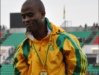 Magakwe storms to 9.98 South Africa's 100m record in Pretoria