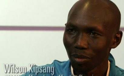 Wilson Kipsang wins London Marathon in record time