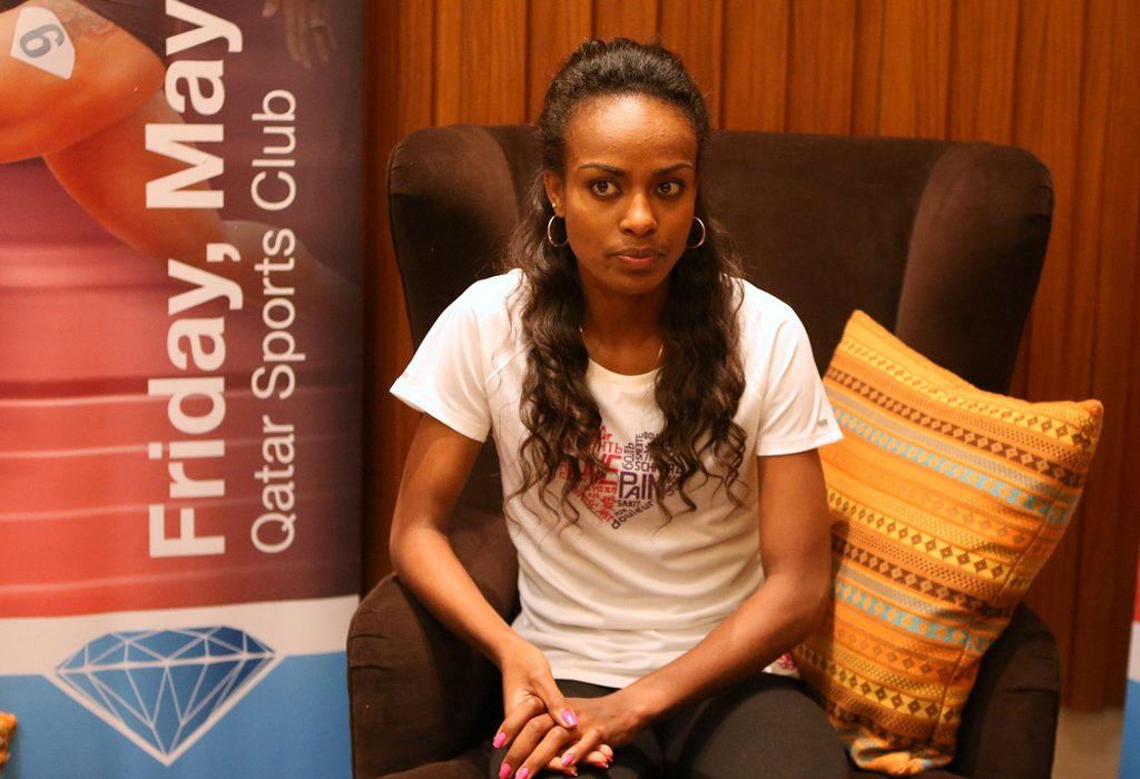Genzebe Dibaba / Photo: Doha LOC