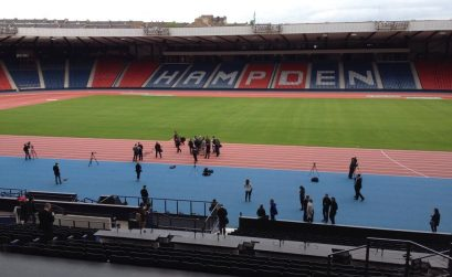 Hampden Park - venue of athletics at the 2014 Commonwealth Games in Glasgow