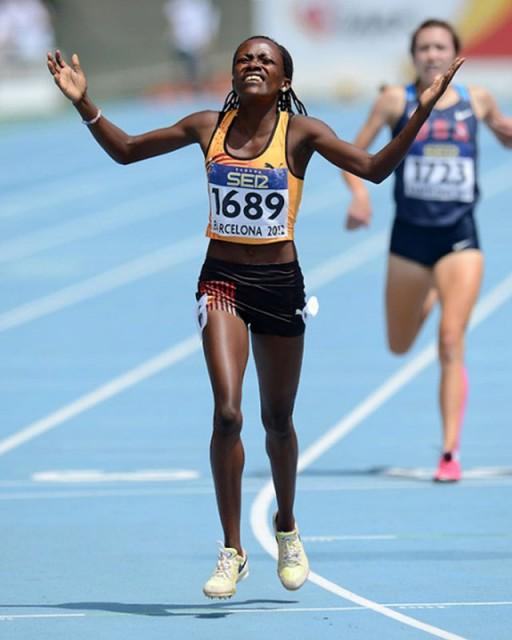 Winnie Nanyondo of Uganda