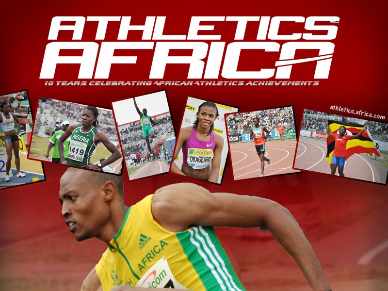 AthleticsAfrica is 10 - a big thanks to all our supporters over the years