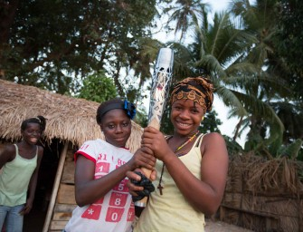 In Pictures: When the Queen's Baton Relay came to Africa – Glasgow 2014