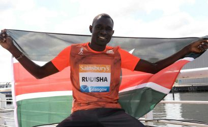 David Rudisha lived up to his promise at the 2014 Sainsbury's Glasgow Grand Prix / Photo Credit: IAAF Diamond League