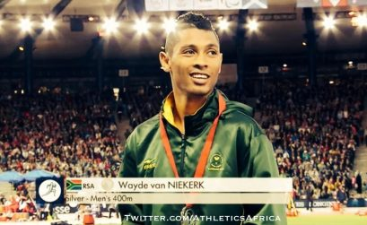 South Africa's Wayde van Niekerk wins 400m silver medal in Glasgow