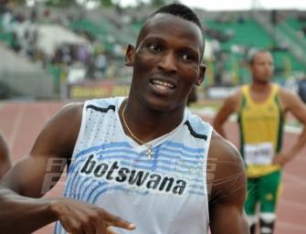 Isaac Makwala shatters African record in La Chaux-de-Fonds