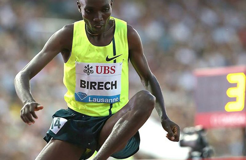 Jairus Birech of Kenya / Photo credit: © Giancarlo Colombo