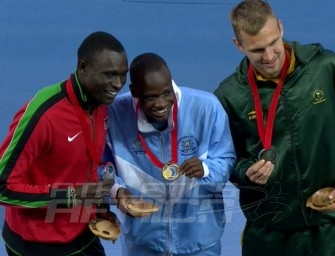 Interviews with African Athletes at Glasgow 2014