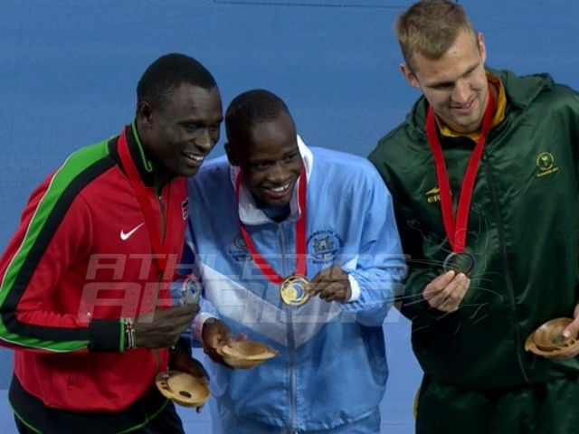 African athletes at Glasgow 2014