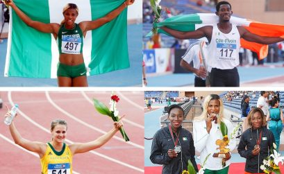 Winners on day 2 at the African athletics championships in Marrakech 2014