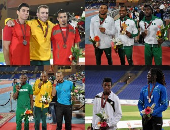 Marrakech 2014: Cheyne Rahme breaks record, Nigeria sweep 110m hurdles – Day 4