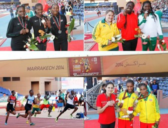 Marrakech 2014: South Africa tops table, Sum and Wanjiru props Kenya – Day 5