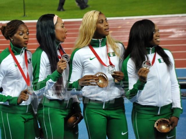 nigeria-4x100m-women-in-Glasgow-2014