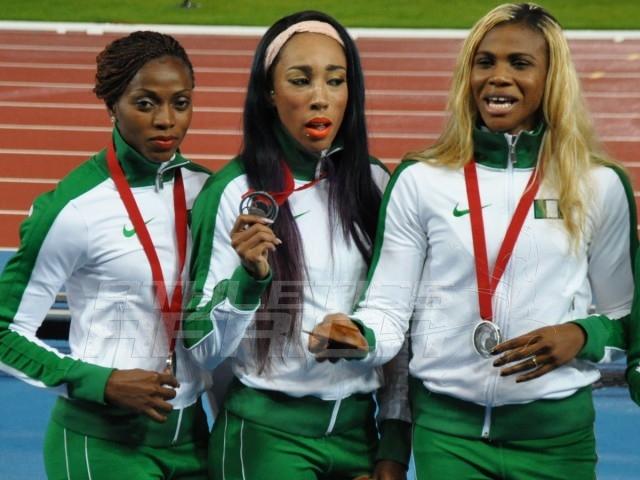 nigeria-4x100m-women-in-Glasgow-2014a