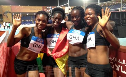 Ghana's 4x100m women's team / Photo credit: Yomi Omogbeja