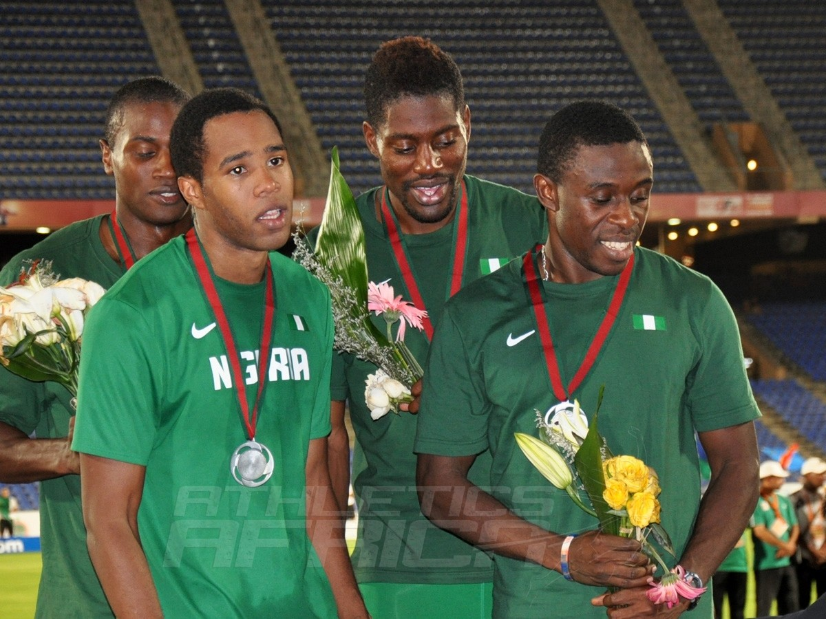 Nigeria's 4x400m men's team / Photo credit: Yomi Omogbeja