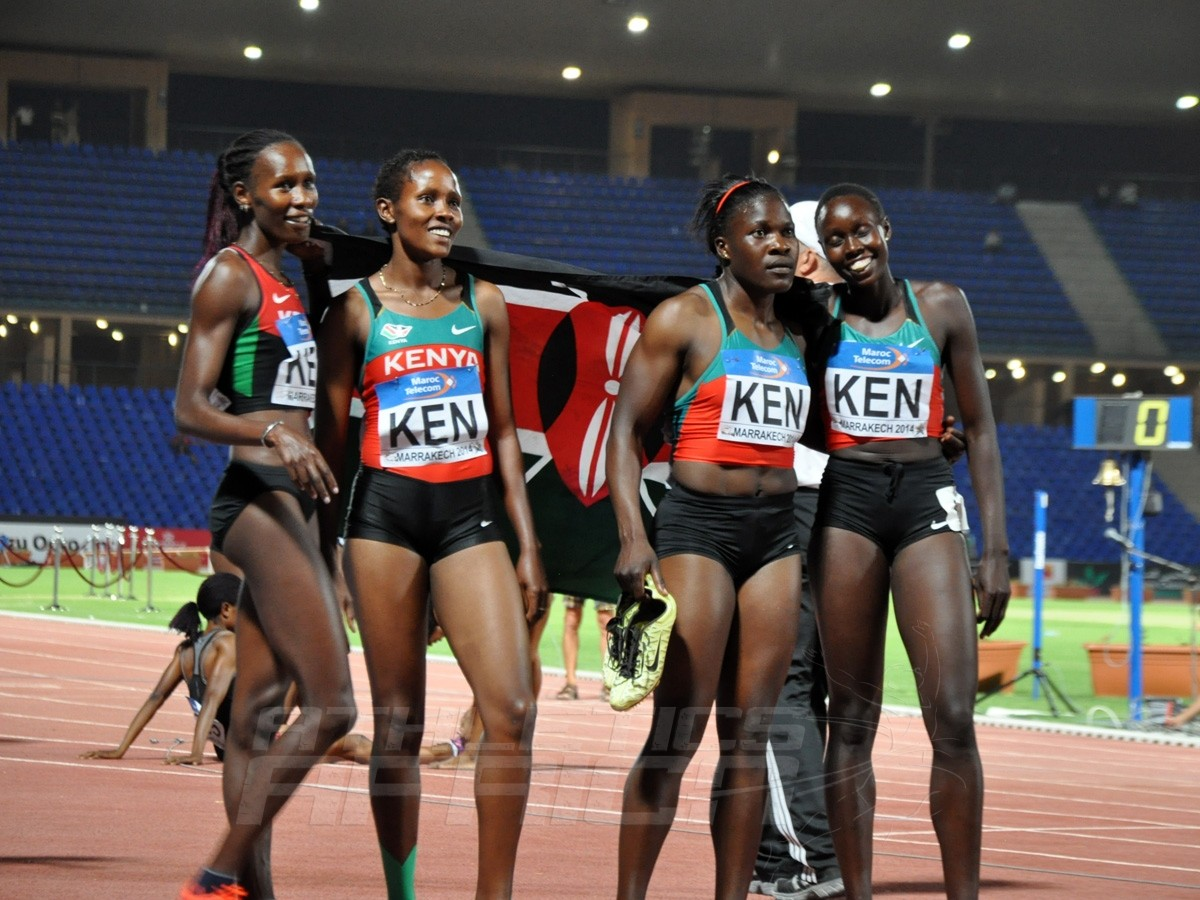 Kenya's 4x400m women's team / Photo credit: Yomi Omogbeja