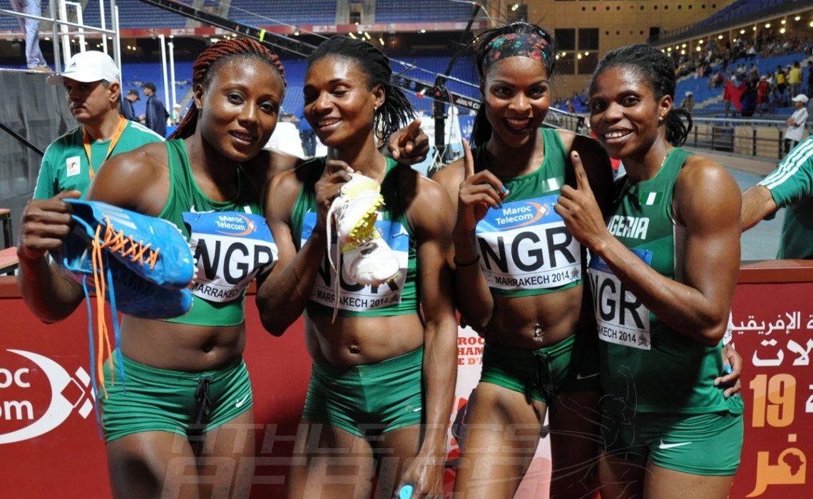 Nigeria's 4x400m women's team / Photo credit: Yomi Omogbeja