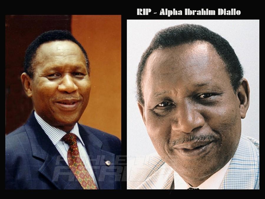 Alpha Ibrahim Diallo, an IOC Honorary Member in Guinea