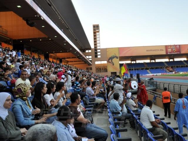 Marrakech spectators / Photo credit: Yomi Omogbeja
