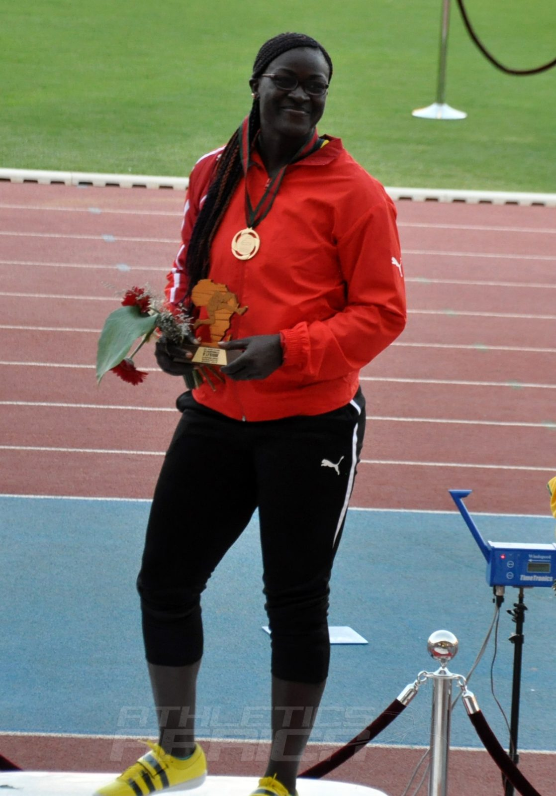 Auriol Sally Dongmo M Shot Put Women / Photo credit: Yomi Omogbeja