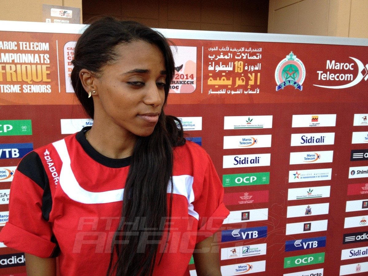 Basant Mosaad Mohamed Hassane - High Jump Women / Photo credit: Yomi Omogbeja