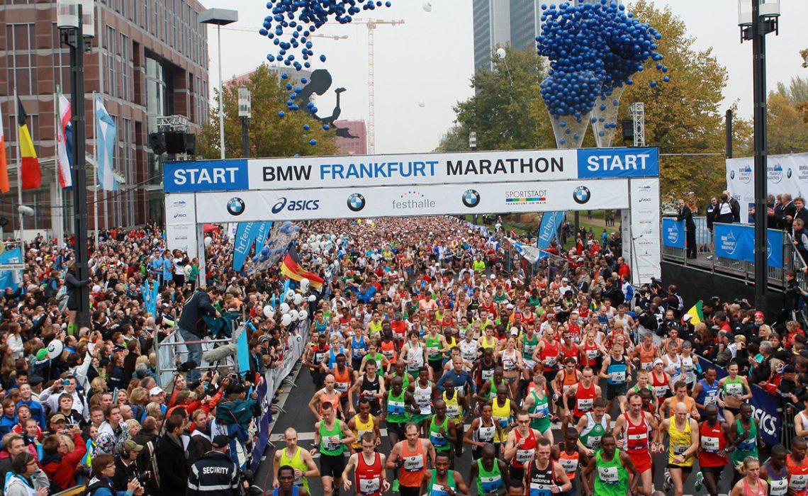BMW Frankfurt Marathon start