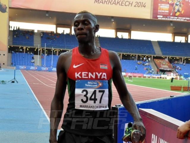 Caleb Nwangangi Ndiku - 5000m men / Photo credit: Yomi Omogbeja