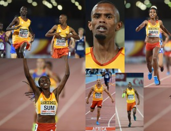 Sum, Dibaba, Fredericks and Souleiman win for Africa – Day 1 IAAF Continental Cup