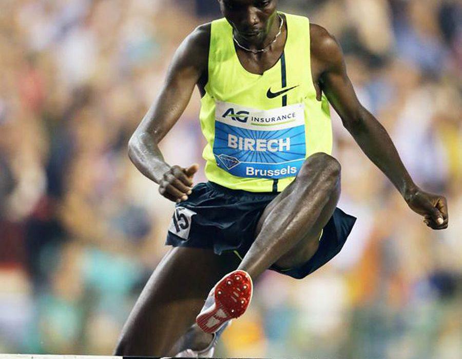 Kenya's Jarius Kipchoge Birech wins at the IAAF Diamond League in Brussels / Photos: © Gladys Chai von der Laage