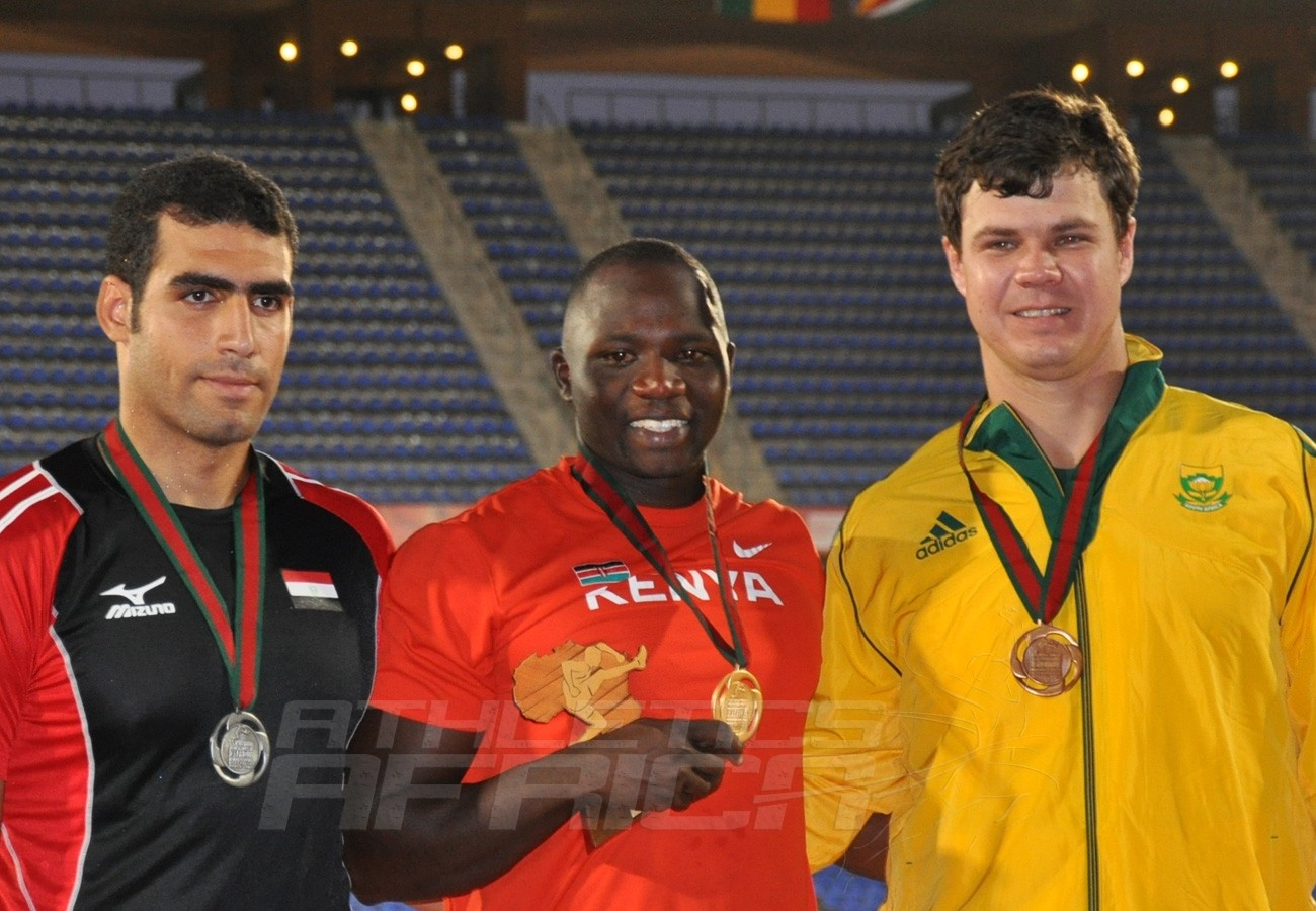 Julius Yego - Ihab Abdelrahman Elsayed - Robert Oosthuizen - Javelin Men / Photo credit: Yomi Omogbeja