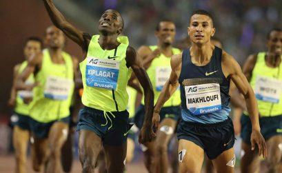 London 2012 Olympic Games champion Taoufik Makhloufi held Kenyan Silas Kiplagat to win, in 3:31.78, the men's 1500m Diamond Race in Brussels / Photos: © Gladys Chai von der Laage - IAAF Diamond League