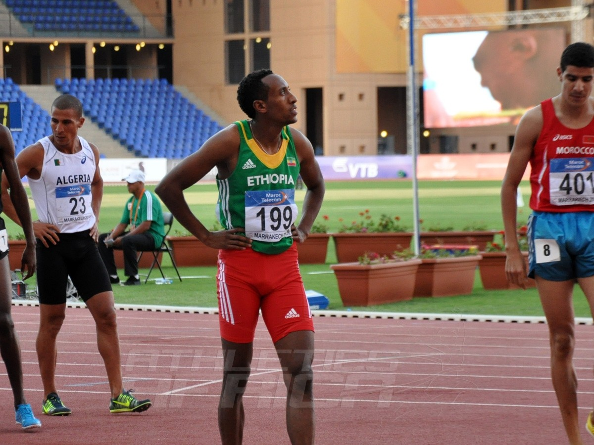 Mohamed Aman - 800m Men / Photo credit: Yomi Omogbeja