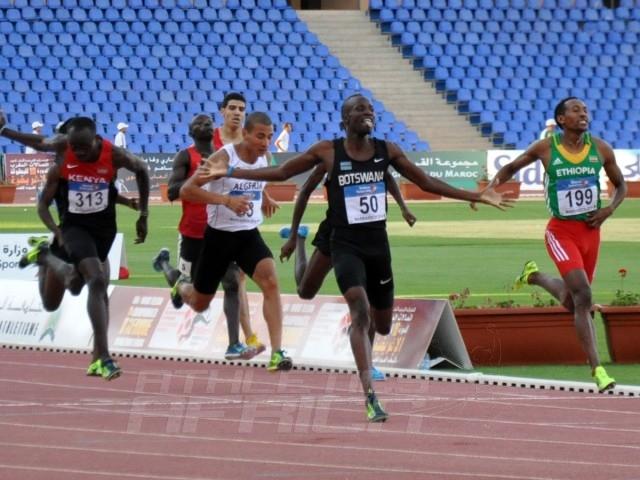 Nijel Amos - Mohammed Aman - 800m Men / Photo credit: Yomi Omogbeja