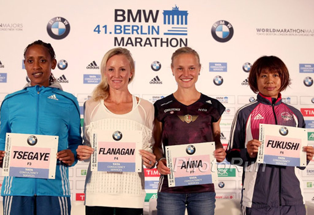 Tirfi Tsegaye, Shalane Flanagan, Anna Hahner and Kayoko Fukushi / Photo: photorun.net
