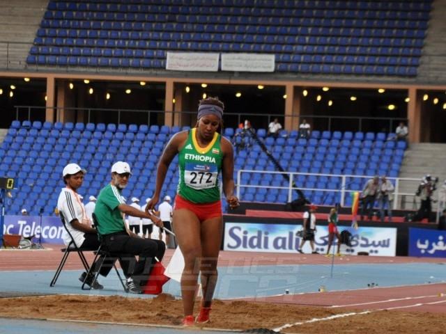 Zeiba Zeine Abdo of Ethiopia - Long Jump women / Photo credit: Yomi Omogbeja