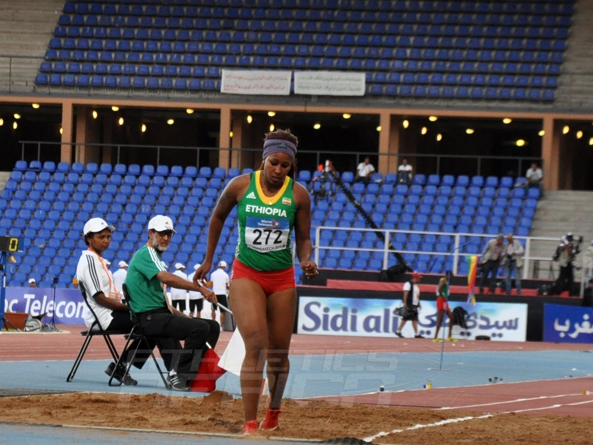 Zeiba Zeine Abdo of Ethiopia - Long Jump women / Photo credit: Yomi Omogbeja