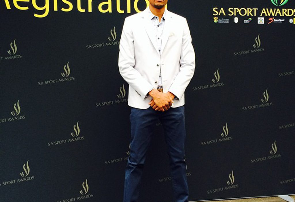 Khotso Mokoena at the nominees launch party for the 2014 South African Sports Awards in Joburg on Wednesday October 15.