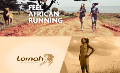 Lornah Kiplagat runs with her own apparel brandwear - 'Lornah' for active women / Photo Credit: Lornahsports.com